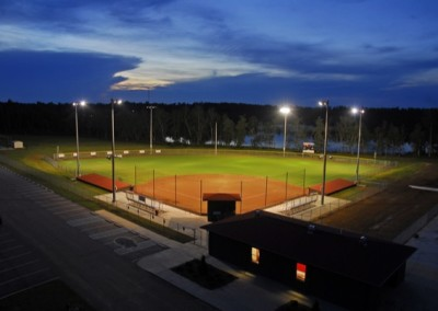 Petal High School Ball Field